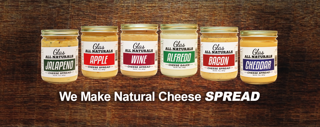 All In Glas.Glas All Naturals Cheese Spreads And Sauces